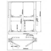 Подъемник двухстоечный S4D-2 AE&T