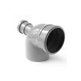 Отвод универсальный 110/50х87,5° фронт-тыл внутренняя канализация VALFEX