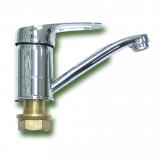 Смеситель для кухни на гайке керамика ПСМ-215-К/017