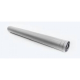 Удлинение дымохода коаксиальное Ф60/100 L1000